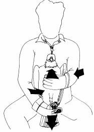 Upright restraint